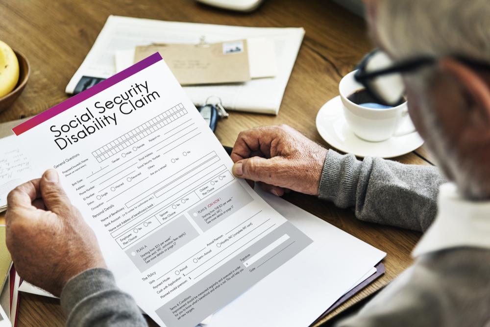 Social Security Disability Claim Form llinois